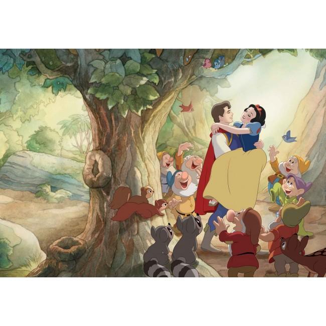 Alba ca Zapada și Prințul - fototapet copii