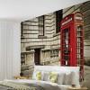 Cabină roșie de telefon - Londra - fototapet