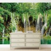 Cascada și natura - fototapet
