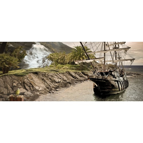 Corabia piratilor - fototapet