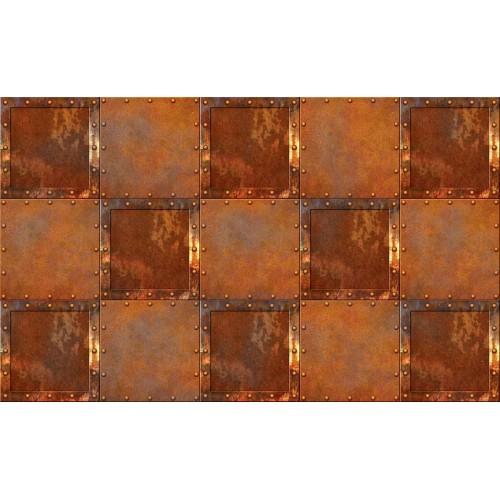 Metal abstract ruginit - fototapet