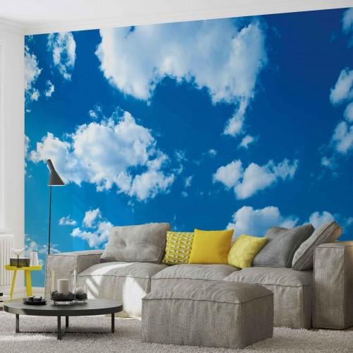 Norii de pe cer - fototapet