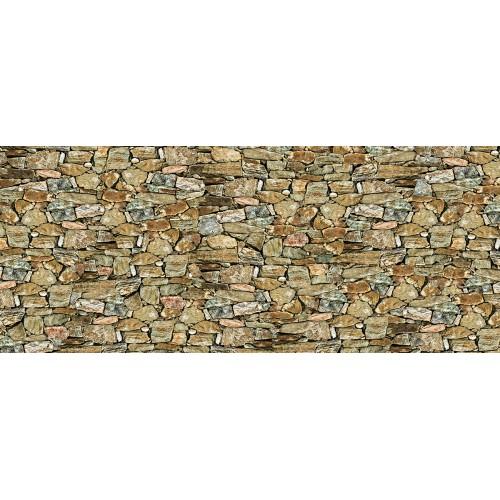 Zid de piatră ocru-bej - fototapet