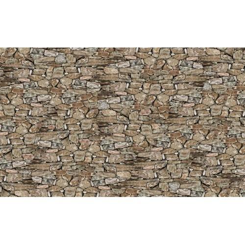 Zid de piatră rustic - fototapet