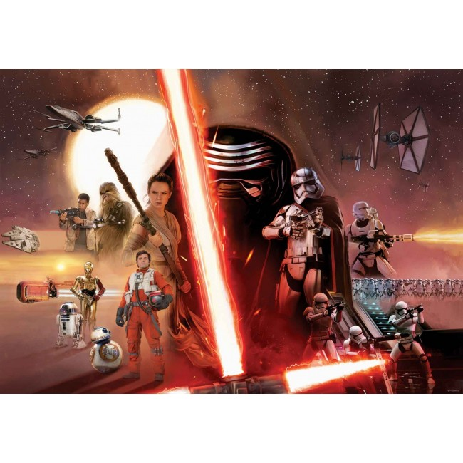 Colaj Star Wars – fototapet copii