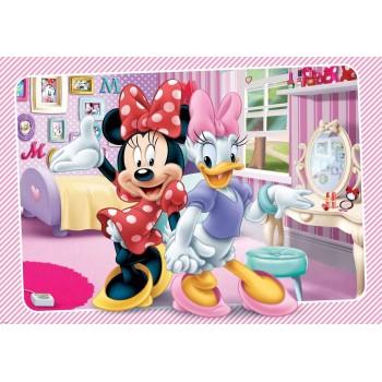 Cele mai bune prietene Minnie si Daisy - fototapet copii