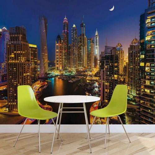 Dubai, orașul de aur - fototapet