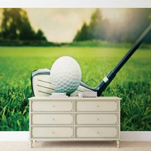 Golf - fototapet