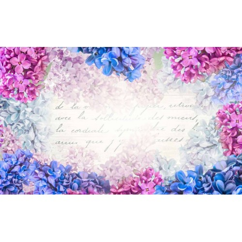 Liliac, floarea memoriei - fototapet