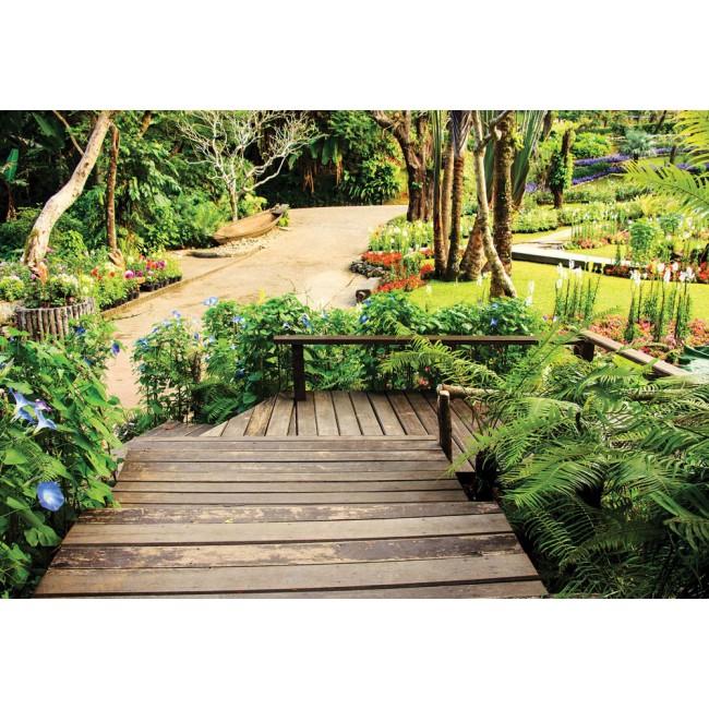 Calea tropicală - fototapet