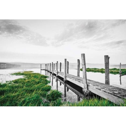 Lacul Pier din Anglia - fototapet
