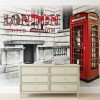Cabina telefonica londoneza - fototapet