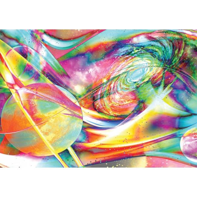Cosmos colorat - fototapet