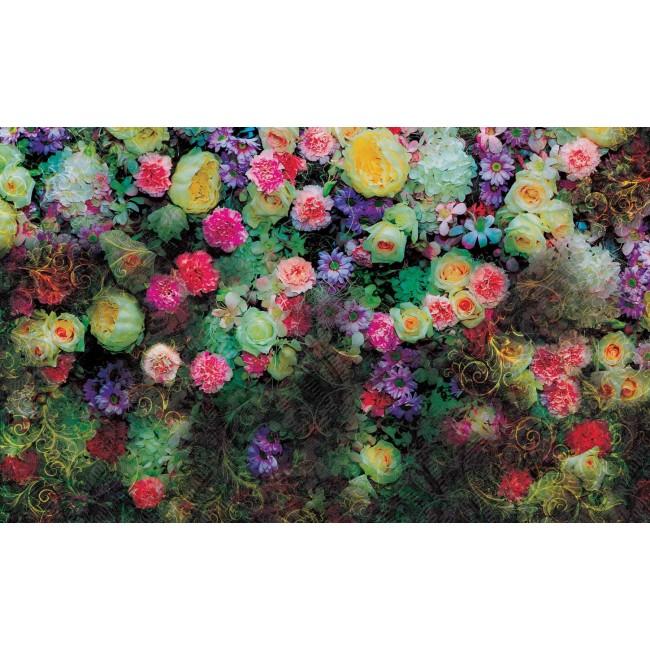 Design floral II - fototapet