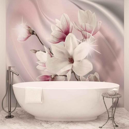 Flori de magnolie - fototapet