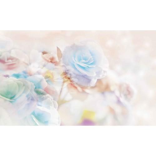 Flori pastel - fototapet