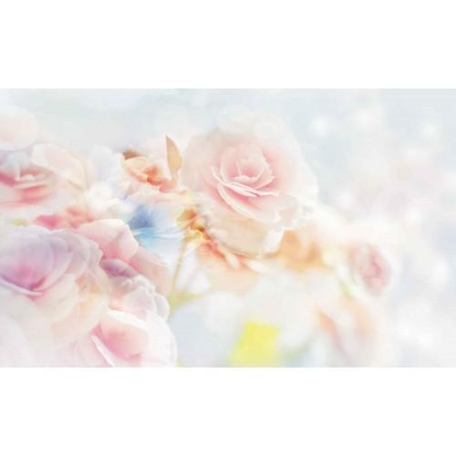Flori pastel II - fototapet