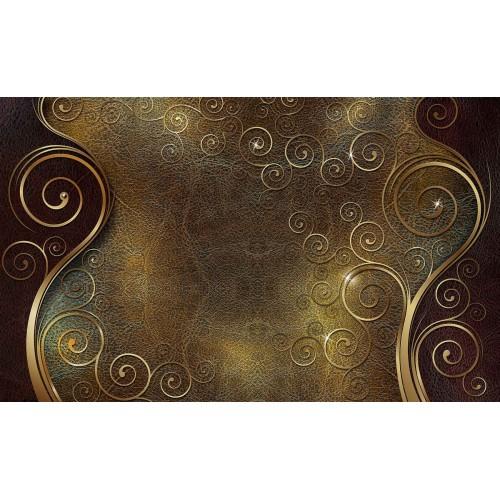 Forme abstracte, onduleuri - fototapet