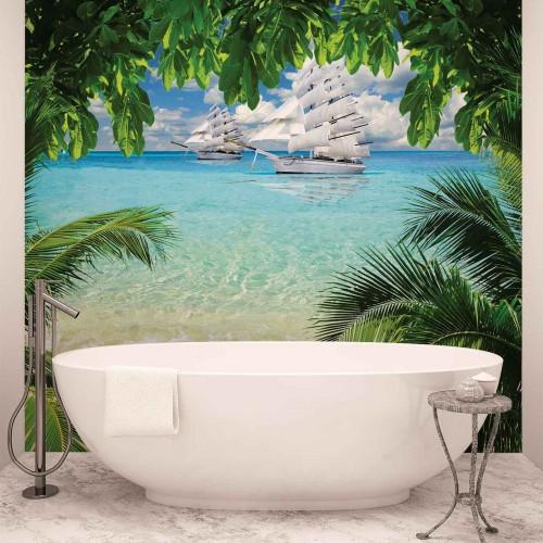 Insula tropicala - fototapet