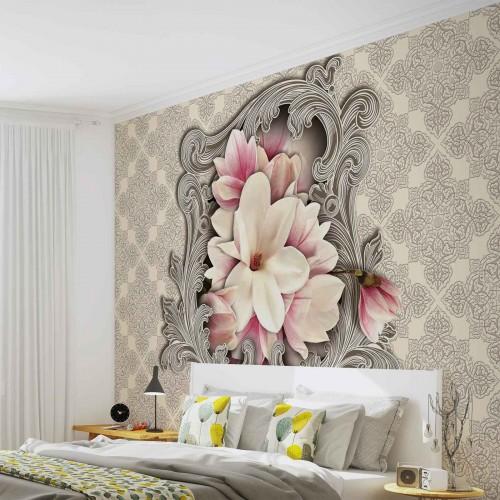 Motiv floral - fototapet