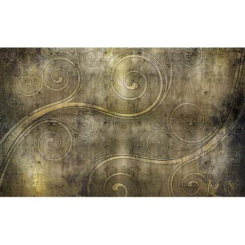 Onduleuri celtice, stil rustic - fototapet