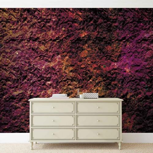 Piatra abstracta color - fototapet