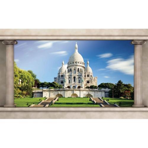 Paris, Sacre Coeur - fototapet