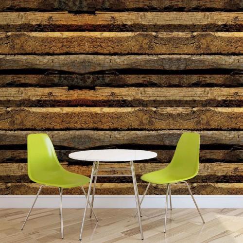 Textura lemnoasa - fototapet
