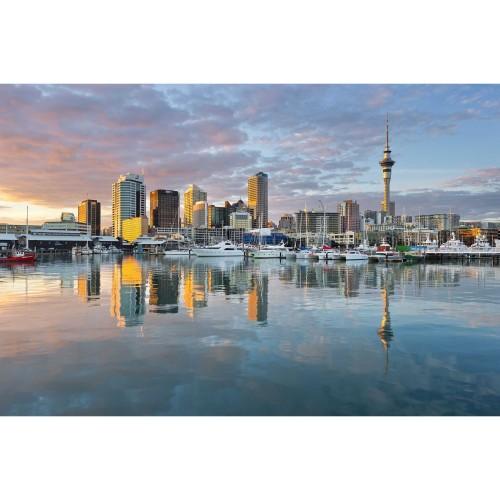 Apusul in Auckland - fotoapet vlies