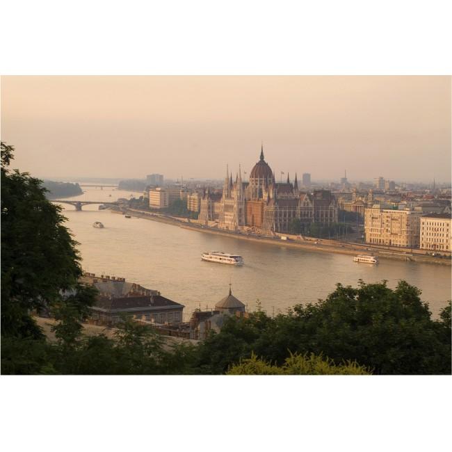 Budapesta - fototapet vlies