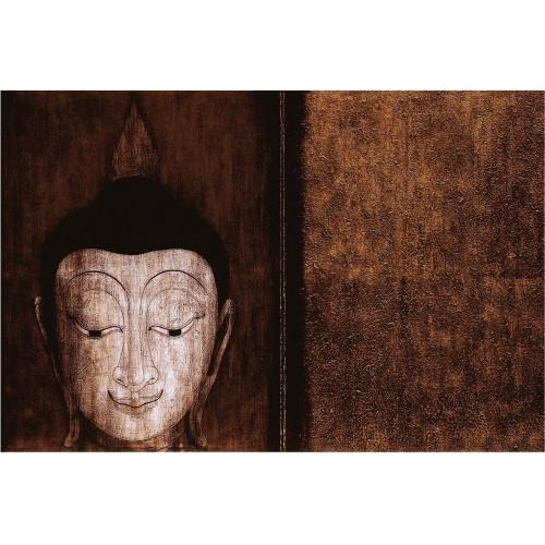 Buddha cel fericit! - fototapet vlies