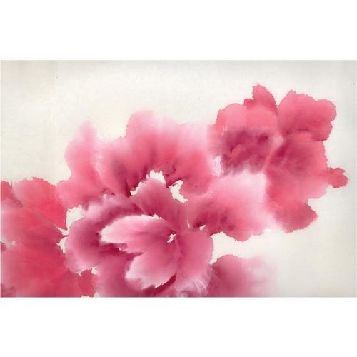 Flori artistice - fototapet vlies
