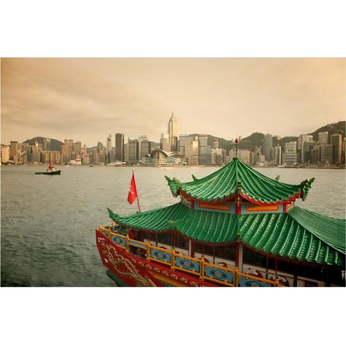 Hong Kong - fototapet vlies