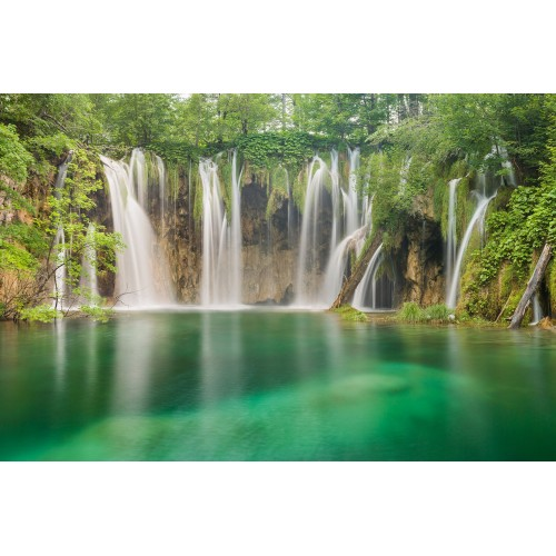 Fototapet cu lacurile si cascadele din Plitvice