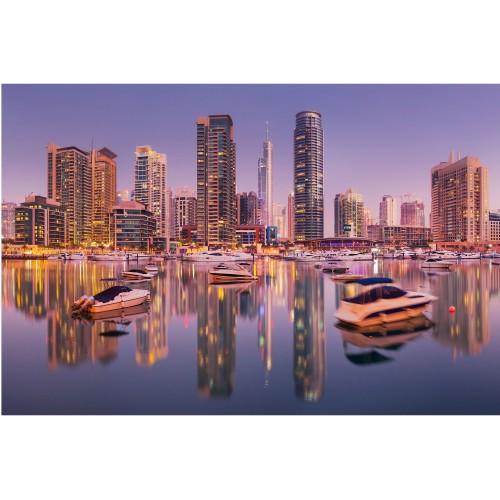 Linia cerului in Dubai - fototapet vlies
