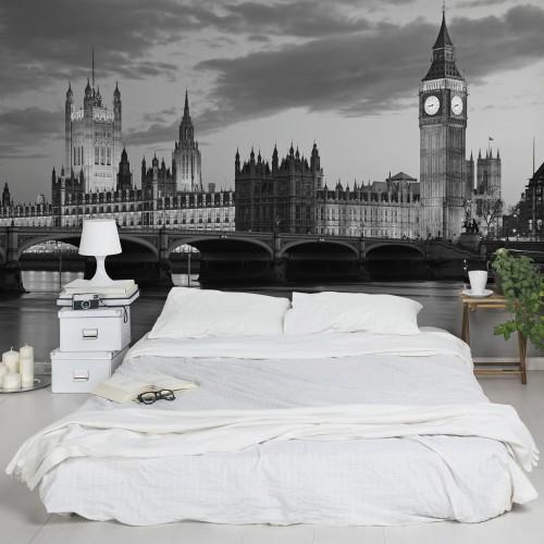 Londra, noaptea - fototapet vlies