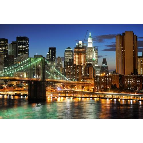 Panorama Manhattan - fototapet vlies