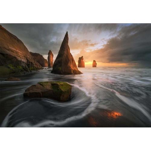 Plaja Noua Zeelanda - fototapet