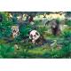 Animalele sălbatice din junglă - fototapet vlies