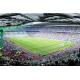 Stadion de fotbal - fototapet vlies