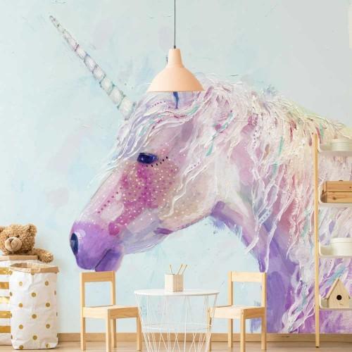 Unicornul - fototapet copii