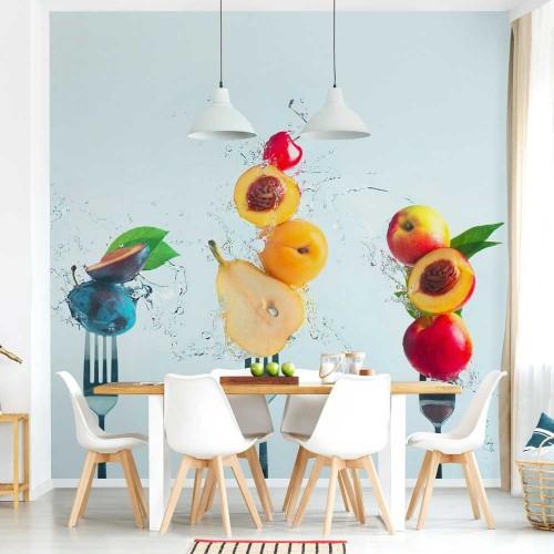 Fototapet bucătărie - Salată de fructe