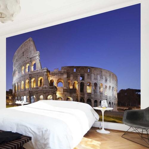 Colosseum iluminat - fototapet vlies
