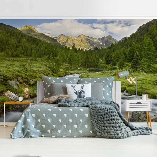 Parcul Național Hohe Tauern din Austria - fototapet vlies