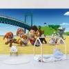 Patrula căţeluşilor, pe plajă - fototapet copii