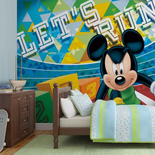 Fototapet copii Mickey Mouse 1258