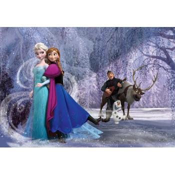 Fototapet copii Frozen - Anna & Elsa 1632