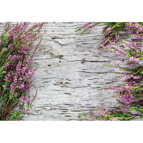 Fototapet Flori pe lemn 1637P4