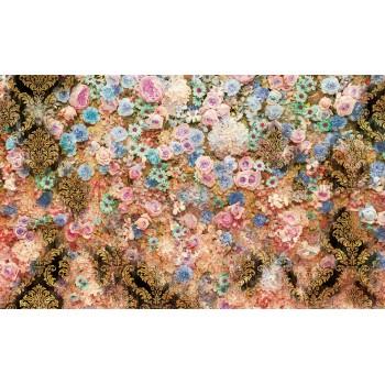 Fototapet floral Flori colorate 3132