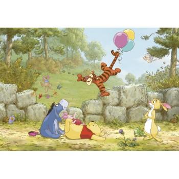 Fototapet copii Winnie the Pooh și prietenii 8-460